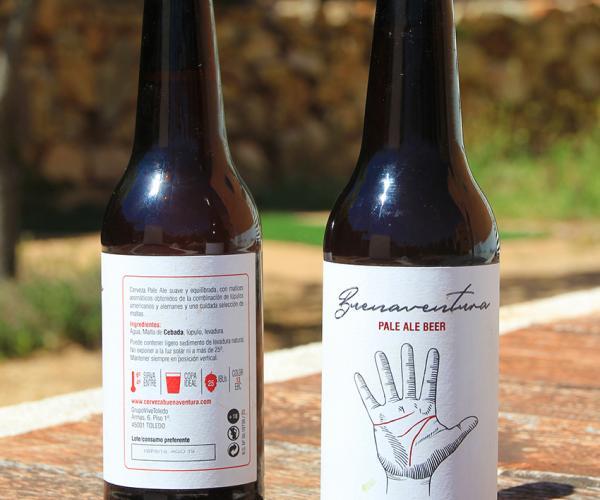 Cerveza buenaventura pale ale
