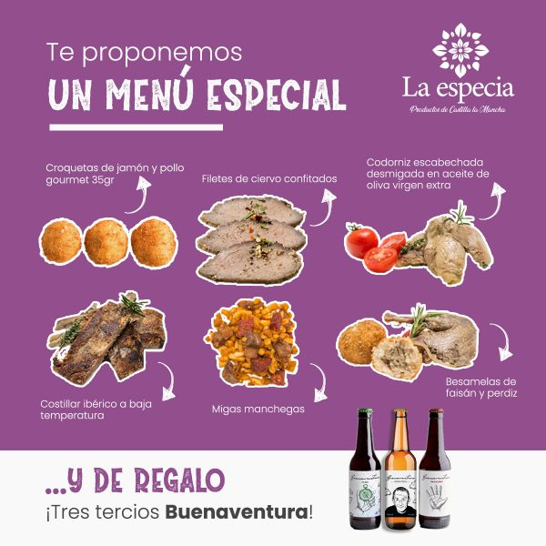 Pack gastronómico